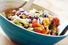 Summer Bean And Vegetable Salad by AmateurKitchen | ifood.tv