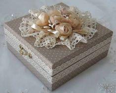 Resultado de imagen para cajas decoradas con perlas