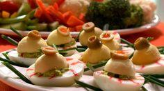 Yeux globul'œufs et cerveau-trempette Potato Salad, Potatoes, Ethnic Recipes, Food, All Recipes, Favorite Recipes, Vegetable Dips, Brain, Eyes