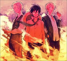 Three powers: Zoro, Luffy, and Sanji. Tags: ONE PIECE, Sanji, Roronoa Zoro, Monkey D. Luffy