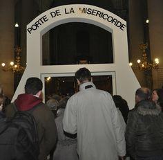 8 décembre 2015 : entrée dans l'année jubilaire de la Miséricorde à l'église Saint Sébastien à Nancy.