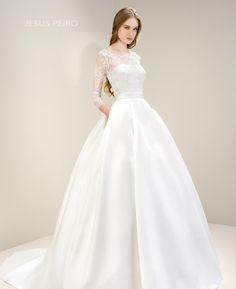 Vestido novia Jesús Peiró Ref.7067