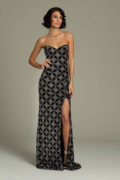 Jovani Strapless Long Gown Robes De Soirée De Concepteurs, Robes Haute  Couture, Les Robes 0287159152a4