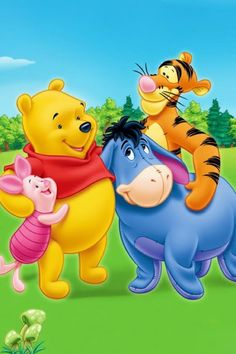 You are never to old to watch Winnie and Poo...... Never
