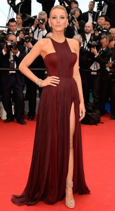 Blake Lively in Gucci Premiere Cannes2014