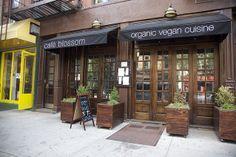 Cafe Blossom on Carmine, West Village NYC.