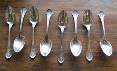 Antique Sterling Silver Benedict Bros WH 8pc by GaryGermer on Etsy, $249.00