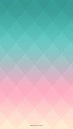 Colorful Diamond Shape Pattern iPhone 5 Wallpaper