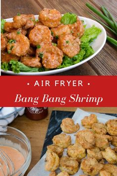 If you've ever been to a Bonefish Grill you probably tried their delicious Bang Bang Shrimp. This homemade version makes it a lighter by air-frying. Fried Coconut Shrimp, Coconut Shrimp Recipes, Fried Shrimp, Shrimp Tacos, Individual Appetizers, Blue Jean Chef, Air Frier Recipes, Bonefish Grill, Bang Bang Shrimp
