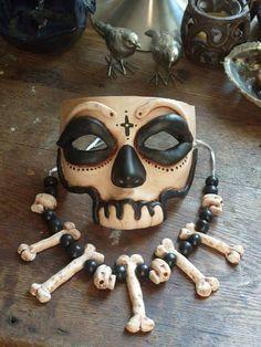 paper mache voodoo mask - Google Search