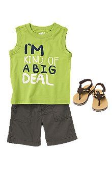 Check out The Children's Place for a great selection of kids clothes, baby clothes & more. Toddler Boy Outfits, Kids Outfits, Summer Outfits, Cute Outfits, Baby Boy Fashion, Kids Fashion, Baby Boys, Toddler Boys, Future Clothes