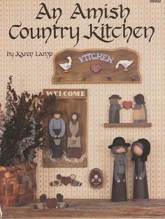 An Amish Country Kitchen by Karen Lamb by OutoftheConex on Etsy