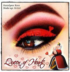 Queen of Heart - Katelynn Rose artista de maquillaje