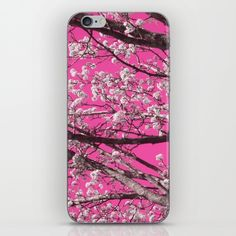 'Sky As Toile' available in our #society6 store on a variety of products.   #$15 #toile #iphone #ipod #skin #tech #case #gift #gifts #pink #fuschia #blossoms #flowers #cherry-blossom #photography #art #nature #store #hawthornandlilac