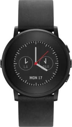 Pebble now has the world's thinnest smart watch.