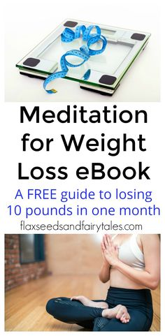 This free eBook teaches the best and fastest way to lose 10 pounds in a month with meditation. These easy techniques will help you lose weight fast without dieting or exercise.