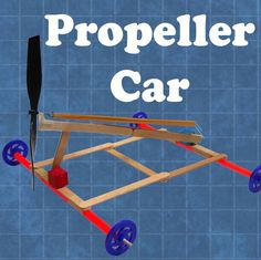 Propeller-Powered Car and many other project-based engineering for kids. Stem Science, Science Fair, Teaching Science, Science For Kids, Ks2 Science, Stem Projects For Kids, School Projects, Engineering Projects, Science Projects