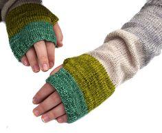 Colorblock Handwarmers