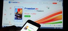 30 जून को डिलीवरी होगा सबसे सस्ता स्मार्टफोन फ्रीडम  #freedom #cheapest #smartphone