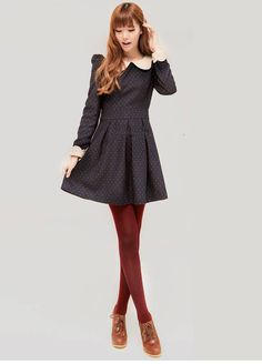 This is so cute but I'd like the skirt length to be longer.