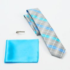 Apt. 9® Big Dock Plaid Skinny Tie Set - Men