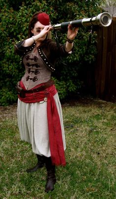 Zouave Steampunk Costume by Festive Attyre