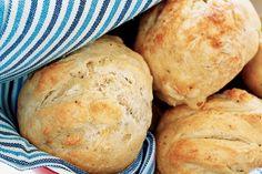 Peppered Camembert Dampers Recipe - Taste.com.au Australia day recipes