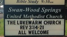 Church Signs of the Week: October 17, 2014 | The Exchange | A Blog by Ed Stetzer