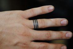 Ring Tattoo For Men