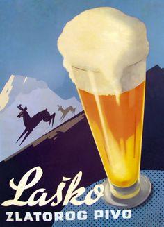 Reklama za laško pravi, da zlatorog dlako menja, piva pa nikdar. Nekateri vseeno trdijo, da je z novo podobo pivo spremenilo tudi okus, a recept ostaja enak kot takrat, ko je bil aktualen tale plakat.