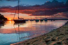 Sunset at Crammond