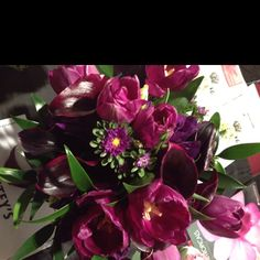 Purple passion bouquet!