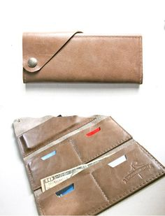 THE WRAP WALLET, I want the turquoise one!