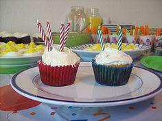 Orange Vanilla Grain Free Cupcakes - GAPS!