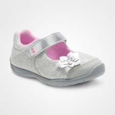 ef578d383d64 Toddler Girls  Surprize by Stride Rite Katelyn Mary Jane Shoes - Silver 4