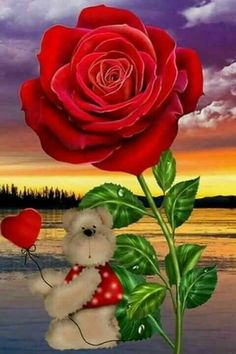 Happy Weekend Images, Good Morning Happy, Decoupage, I Love You Forever, Romantic Flowers, Love Images, Beautiful Roses, Photos, Pictures