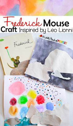 Frederick Mouse Craft Inspired by Leo Lionni -An easy craft to go along with this classic book about a mouse sharing ways to enjoy the end of winter with his friends.