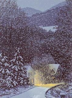 William Hays linocut | Incredible Pics