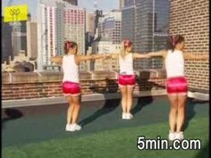 Cheerleading Dance Moves easy step by step to teach the girls