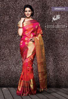 Catalog All Collections Nalli Silk Sarees, Phulkari Saree, Kanjivaram Sarees, South Indian Sarees, Indian Silk Sarees, Indian Attire, Indian Outfits, Velvet Saree, Silk Sarees With Price