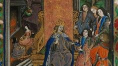 Henry VII and his children after the death of Elizabeth of York