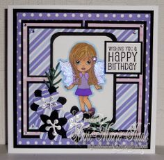 Main Page, Fairies, Sapphire, Happy Birthday, Frame, Sweet, Cards, Design, Home Decor