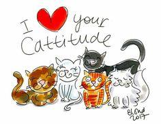 08 august 2017 By Blond-Amsterdam Blond Amsterdam, World Cat Day, Birthday Cartoon, Birthday Cats, Tarjetas Diy, Dog Cake Topper, Face Illustration, Cute Memes, Cat Cards