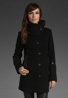I finally find a black winter coat that I want for this winter and its $590. Zaaaaaach? :) kidding..... ish.