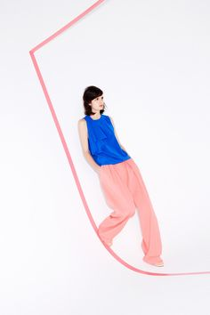 Those pants! Sonia by Sonia Rykiel | Pre-Fall 2014 Collection | Style.com