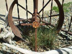 Delightful Rustic Garden Decor | Rustic Metal Cross, Home Decor   Garden   Patio  Indoor /