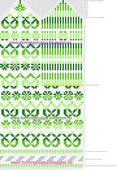 Knitted Mittens Pattern, Knit Mittens, Mitten Gloves, Knitting Charts, Hand Knitting, Knitting Patterns, Crochet Chart, Knit Crochet, Fair Isle Knitting