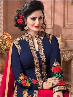 ef8d0c396bc Buy Blue Black Designer Ghagra Choli Online Lehenga Choli Online