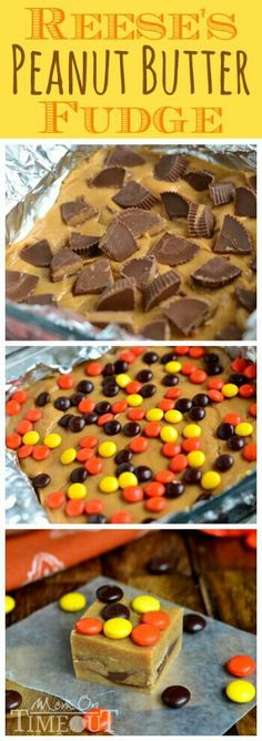 M&m Reese's fudge!!! I gotta make this