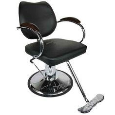 Pleasant To The Palate Commercial Furniture Hair Salon Special Barber Chair Hair Chair Simple Hairdressing Shop Chair Can Lift Hair Chair High Grade Hairdressing Chair